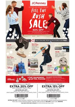 Department Stores deals in the JC Penney weekly ad in Saint Petersburg FL