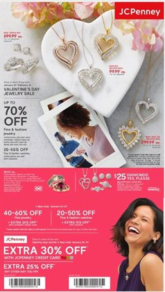 Department Stores offers in the JC Penney catalogue in Houma LA ( Expires today )