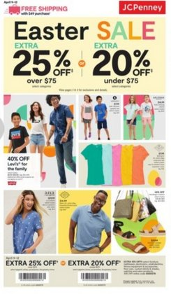 Department Stores offers in the JC Penney catalogue in Sugar Land TX ( 3 days left )