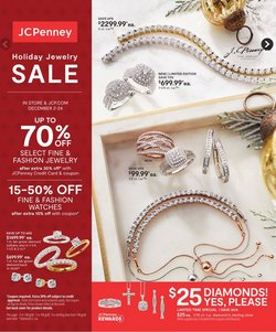 Department Stores offers in the JC Penney catalogue in New York ( Published today )
