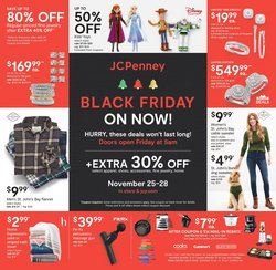 Department Stores offers in the JC Penney catalogue ( Expires tomorrow )