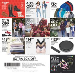 Stock deals in JC Penney