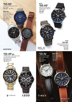 Fossil deals in the JC Penney catalog ( 7 days left)
