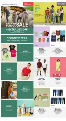 Department Stores deals in the JC Penney catalog ( Expires tomorrow)