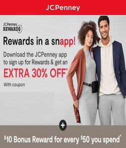 Department Stores deals in the JC Penney catalog ( 6 days left)