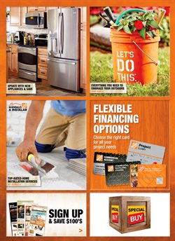 Home Depot deals in the New York weekly ad