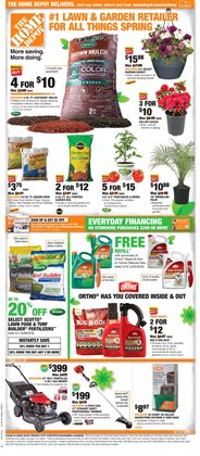 Home Depot deals in the Modesto CA weekly ad