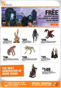 Home Depot deals in the Pontiac MI weekly ad