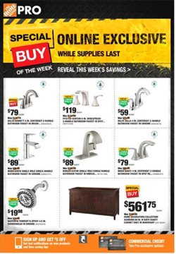 Home Depot deals in the Bay City MI weekly ad