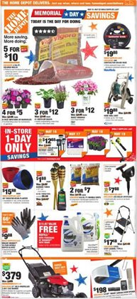 Home Depot deals in the San Jose CA weekly ad
