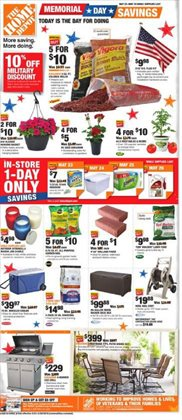 Home Depot deals in the Fullerton CA weekly ad