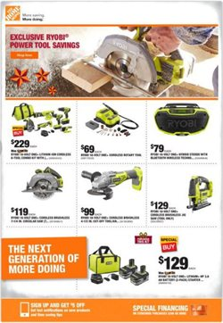 Home Depot deals in the Chicago IL weekly ad