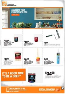 Home Depot catalogue in Newark DE ( Expires tomorrow )