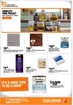 Tools & Hardware offers in the Home Depot catalogue in Burlington NC ( Expires tomorrow )