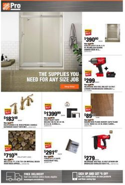 Home Depot catalogue in New York ( Expires today )