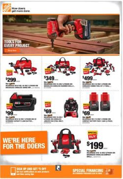 Home Depot catalogue in San Jose CA ( Expires today )