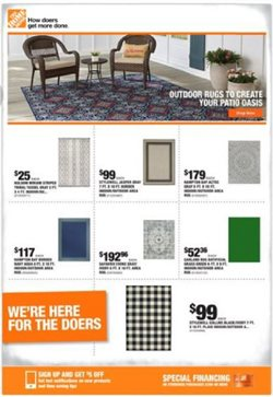 Home Depot catalogue in Fullerton CA ( Published today )