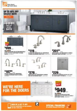 Tools & Hardware offers in the Home Depot catalogue in Pasadena TX ( Expires tomorrow )
