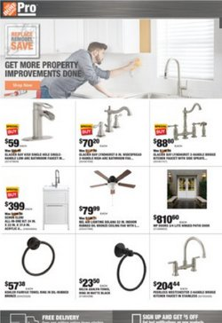 Home Depot deals in the Home Depot catalog ( Expired)