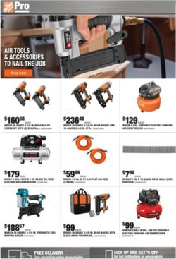 Tools & Hardware deals in the Home Depot catalog ( 2 days left)
