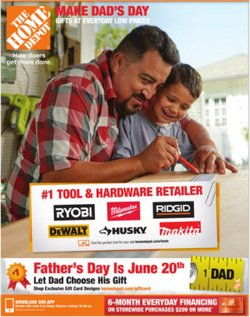 Tools & Hardware deals in the Home Depot catalog ( Expires today)