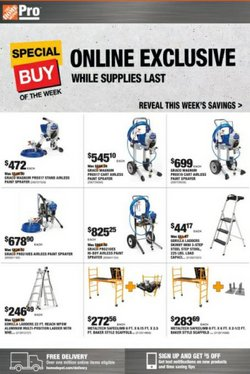 Tools & Hardware deals in the Home Depot catalog ( 5 days left)