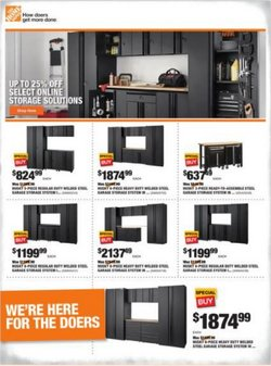 Home Depot deals in the Home Depot catalog ( 3 days left)