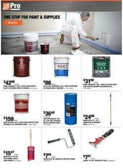 Tools & Hardware deals in the Home Depot catalog ( 3 days left)