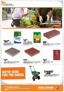 Tools & Hardware deals in the Home Depot catalog ( Published today)