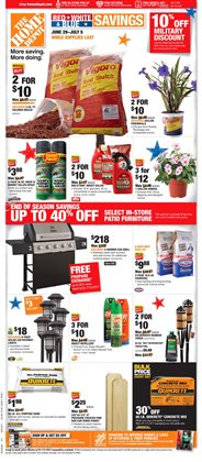 Home Depot deals in the Memphis TN weekly ad