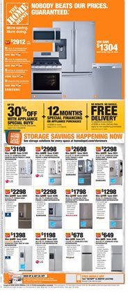 Home Depot deals in the Tucson AZ weekly ad