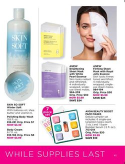 Olay deals in the Avon weekly ad in Los Angeles CA
