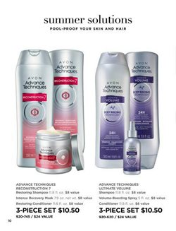 Shampoo deals in the Avon weekly ad in Newark OH