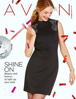 Christmas deals in the Avon weekly ad in New York