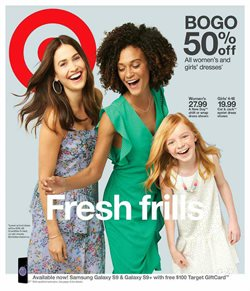 Department Stores deals in the Target weekly ad in Lancaster PA