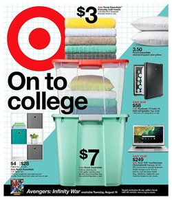 Department Stores deals in the Target weekly ad in Poughkeepsie NY