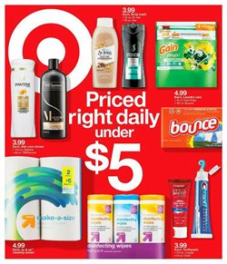 Target deals in the Jacksonville FL weekly ad
