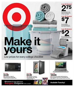 Department Stores deals in the Target weekly ad in Whittier CA