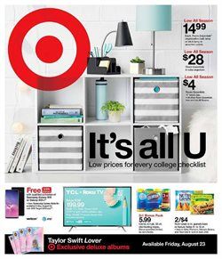 Department Stores deals in the Target weekly ad in Fullerton CA