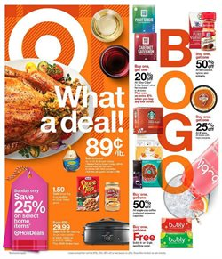 Target deals in the Flint MI weekly ad