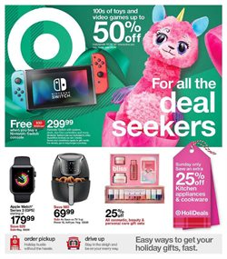 Department Stores deals in the Target weekly ad in Gary IN