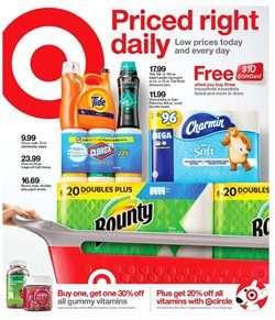 Department Stores deals in the Target weekly ad in Vista CA