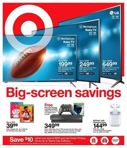 Department Stores deals in the Target weekly ad in Indio CA