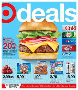 Department Stores offers in the Target catalogue in Oak Brook IL ( Expires today )