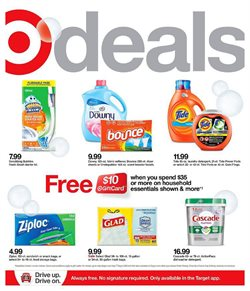 Department Stores offers in the Target catalogue in Indio CA ( Expires today )