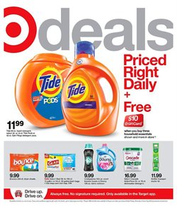 Department Stores offers in the Target catalogue in Schaumburg IL ( Expires tomorrow )