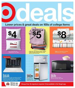 Department Stores offers in the Target catalogue in Pontiac MI ( Expires tomorrow )