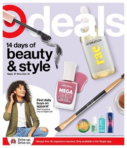 Department Stores offers in the Target catalogue in Lawrence MA ( Published today )