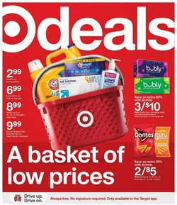 Department Stores offers in the Target catalogue in Spring TX ( 3 days left )