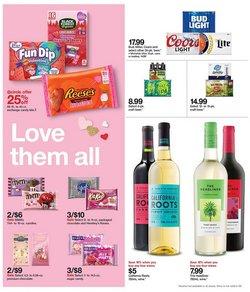 Wine deals in Target